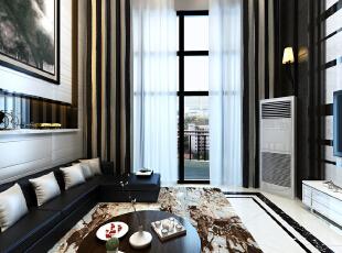 复试楼的设计,首要解决层高,在这里,电动窗帘的运用,注重软装搭配!,230平,27万,现代,复式,客厅,白色,原木色,黑白,中式,简约,