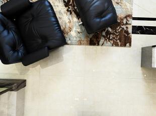 地面真实质感,230平,27万,现代,复式,客厅,餐厅,白色,