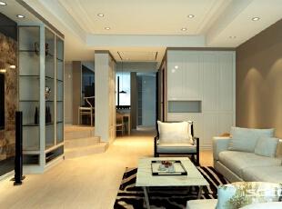 ,88平,12万,现代,两居,客厅,