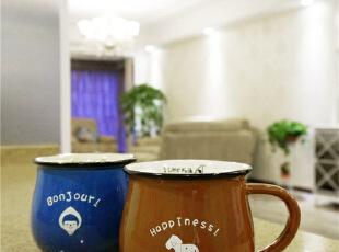 宜家的牛奶杯,假期闲暇的时光,清晨和爱人在吧台上喝一杯暖和的热牛奶,也是很惬意的一件事。,190平,80万,美式,四居,