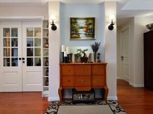 """"""" 玄关设计: 合理的空间布局,还有绿意盎然的家居环境,给了我简单、舒适、完整、安静、从容的感觉,这就是我最想要的家,140平,15万,简约,四居,"""