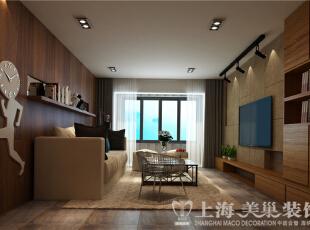 郑州昌建誉峰128平方北欧风格装修案例-客厅侧面效果图,128平,10万,欧式,三居,