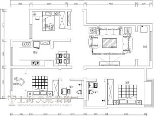 昌建誉峰128平方三室两厅装修户型图及平面布局方案,128平,10万,欧式,三居,