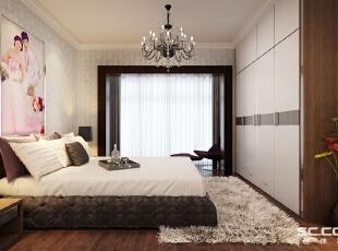 客厅设计: 清新淡雅的颜色搭配,简单的顶面装饰,也弥补了本身采光不足的缺陷,整个空间鲜活起来!,68平,6万,清新,两居,