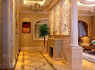 ,210平,18万,简约,四居,客厅,白色,