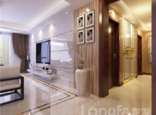 ,190平,7万,现代,四居,客厅,黑白,白色,