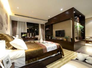 ,200平,20万,中式,四居,卧室,白色,