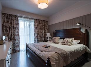 ,93平,6万,美式,两居,卧室,白色,