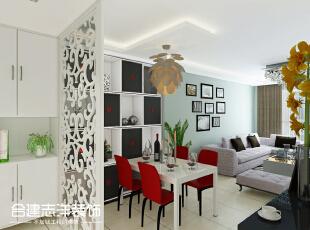 ,95平,11万,三居,现代,客厅,白色,