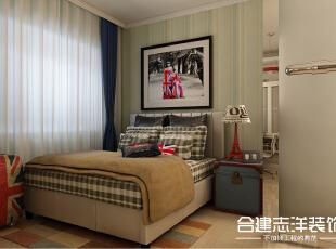 ,84平,9万,两居,现代,卧室,白色,