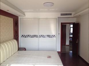 ,150平,15万,中式,三居,卧室,白色,