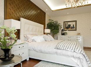 ,300平,45万,混搭,别墅,卧室,白色,
