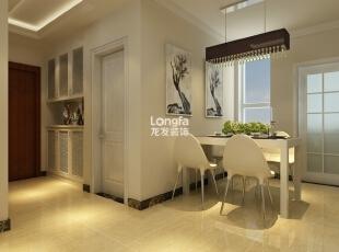 ,129平,4万,现代,三居,餐厅,白色,