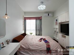 ,67平,3万,简约,两居,卧室,白色,