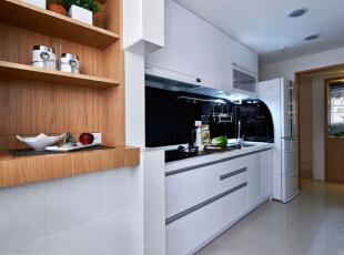 ,96平,15万,现代,两居,厨房,白色,