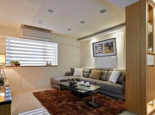 ,96平,15万,现代,两居,客厅,黄白,