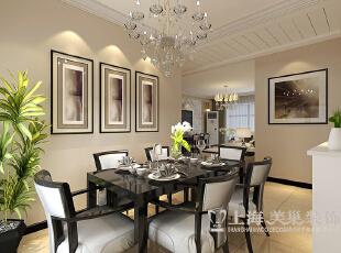 锦艺轻纺城三室两厅117平现代简约装修案例效果图——餐厅,117平,11万,现代,三居,餐厅,