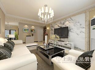 锦艺轻纺城3室2厅117平简约风格装修案例——客厅,117平,11万,现代,三居,客厅,