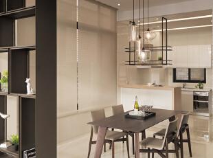 餐厅:整体暖色调为主,让业主吃饭的同时让整个家庭的温暖而包围,175平,20万,现代,四居,餐厅,