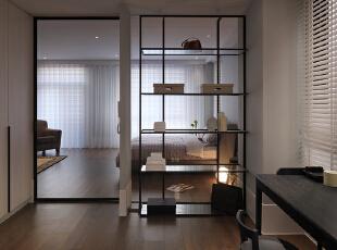 主卧室:现代感很强,咖啡色和白色的搭配让整个空间更加的立体,创意型的灯具、梳妆台的设计都体现了业主对生活的热爱,175平,20万,现代,四居,卧室,