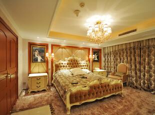 ,480平,220万,美式,别墅,卧室,白色,