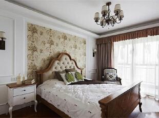 ,115平,9万,欧式,三居,卧室,白色,
