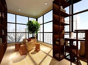 ,181平,15万,中式,大户型,客厅,原木色,