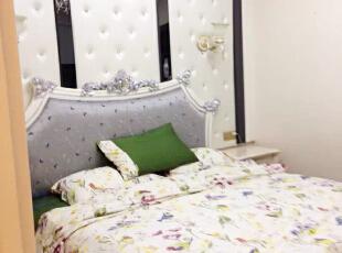 ,128平,89万,新古典,三居,卧室,白色,