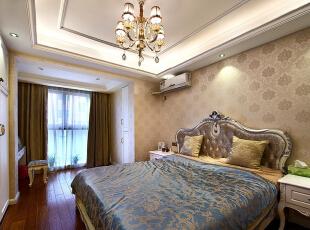 ,98平,9万,现代,三居,卧室,白色,