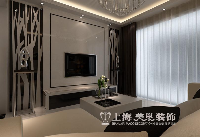 阳光城89平两室两厅现代简约风格装修效果图