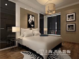 阳光城89平两室两厅现代简约风格装修效果图--卧室,89平,6万,现代,两居,卧室,黑白,