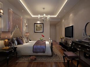 ,120平,12万,欧式,三居,卧室,白色,