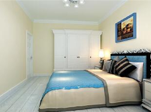 ,78平,7万,现代,两居,卧室,白黄,
