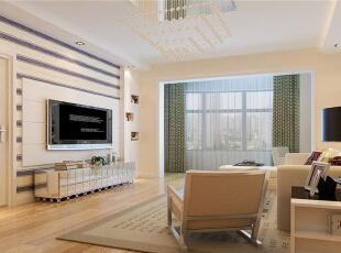 ,85平,8万,现代,两居,客厅,白色,