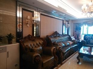 ,140平,14万,欧式,三居,客厅,黑白,