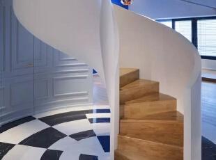 ,290平,67万,混搭,别墅,楼梯,白色,