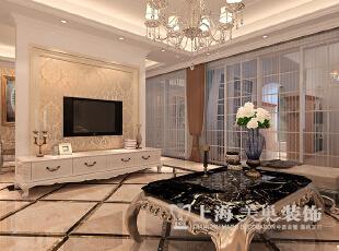 郑州鑫苑世家180平简欧风格装修效果图--电视背景墙,180平,12万,欧式,四居,客厅,原木色,