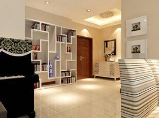 ,120平,10万,小资,三居,客厅,白色,