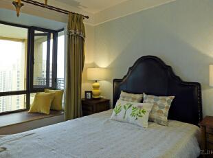 ,150平,混搭,四居,卧室,原木色,黄色,绿色,蓝色,