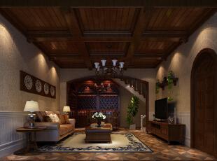 ,100平,10万,欧式,三居,客厅,原木色,
