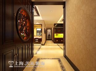 ,177平,10万,中式,四居,客厅,原木色,