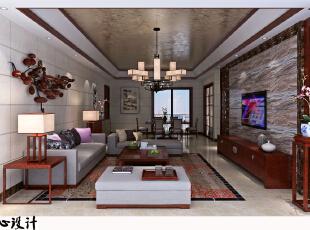 客厅,130平,20万,现代,三居,客厅,中式,