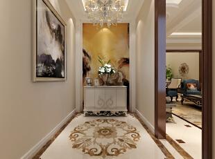 玄关在整个空间里面算是很重要的一部分,来客人的第一感觉,和自己出门时的心情有着很大的关系。所以玄关不仅是整个空间的门面,而是自己走向升官发财的风水宝地。,270平,35万,欧式,三居,玄关,黄色,