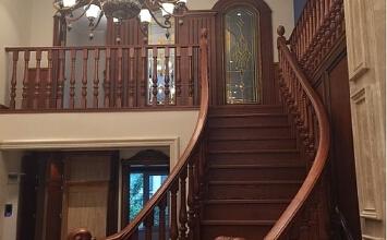 【万泰装饰】远景玉成别墅345平古典欧式风格——孟丽君