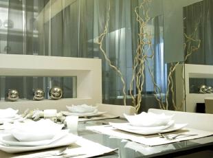 ,90平,6万,简约,两居,餐厅,白色,