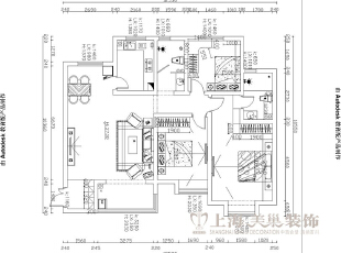 紫荆尚都138平三室两厅现代简约装修案例户型图,138平,9万,现代,三居,