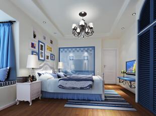 主卧室,90.0平,9.0万,两居,卧室,蓝色,
