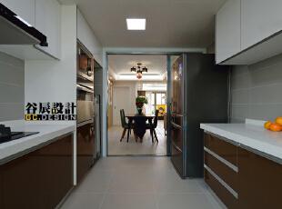 ,100平,18万,简约,两居,厨房,白色,