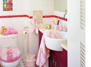 首开熙悦汇-田园两居-首开熙悦汇粉红色点缀美家