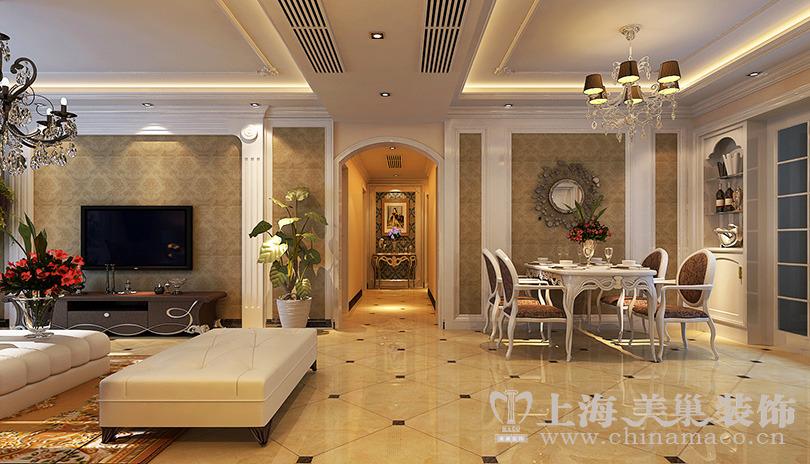 0平米四居欧式风格-谷居家居装修设计图片